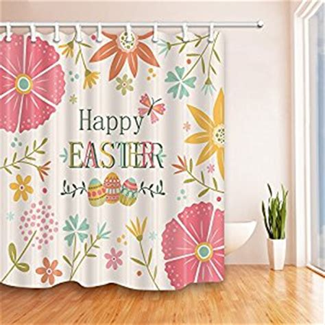 red mold on shower curtain com nymb pink happy easter eggs shower curtain