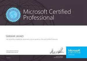 microsoft certification microtree