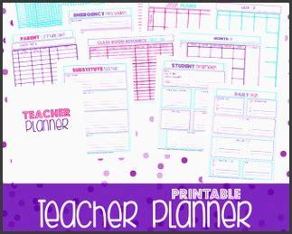 printable teacher planner etsy 6 lesson planner for teachers sletemplatess