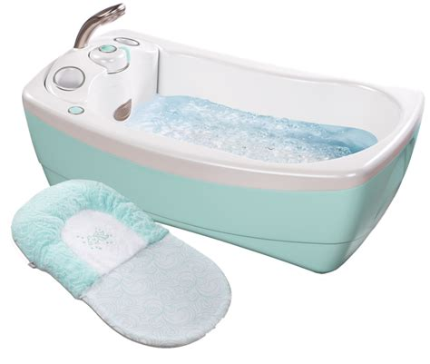 baby spa bathtub summer infant lil luxuries whirlpool bubbling spa