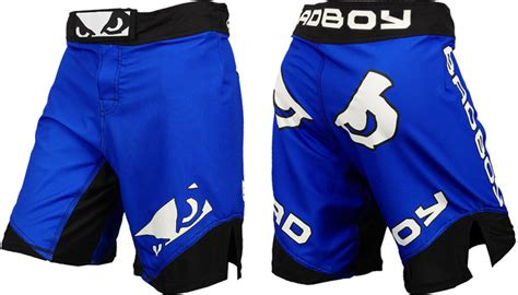 Bad Boy Legacy Ii Celana Combatmma Fightshorts Blackblue bad boy legacy ii fight shorts