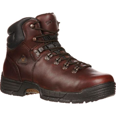 rocky shoes rocky boots mobilite steel toe waterproof work boot