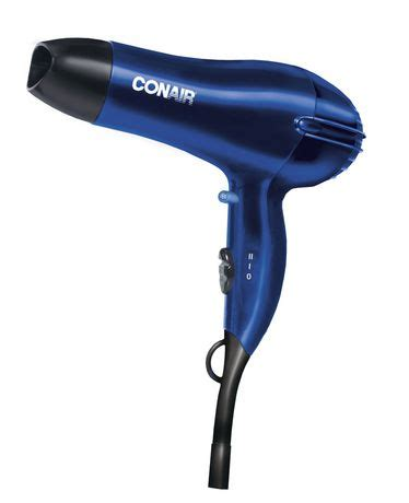 Conair Hair Dryer Kohls conair 1875 watt blue hair dryer walmart ca