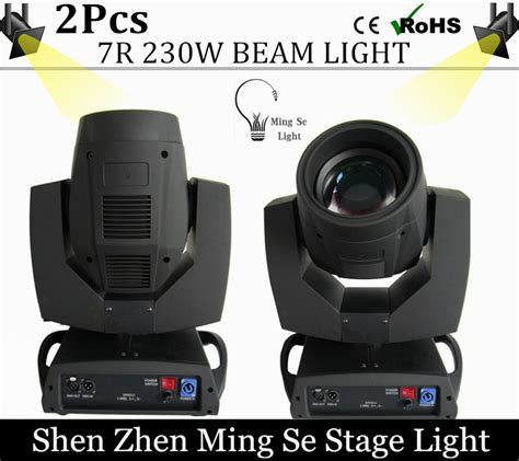 Lu Panggung 230w Beam Light Isi 2 2pcs lot 230w 7r beam light 16 32 48 prism dmx512 channel moving light professional stage