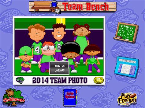 backyard football teams backyard football screenshots for windows mobygames