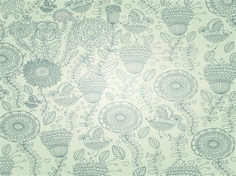 net pattern dec 2014 floral vintage pattern powerpoint templates green
