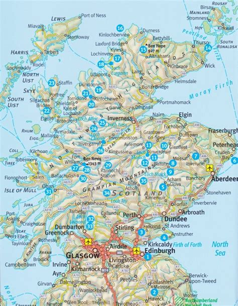 west highland way map booklet 1 25 000 os route mapping books wandern in schottland geobuchhandlung kiel