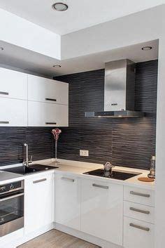 kabinet dapur hitam putih di selayang kitchen dining pantry dishes kitchens