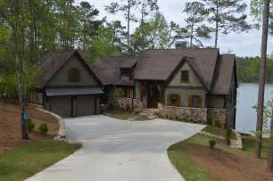 lake house plans for sloping lots