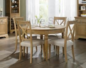 6 Seater Oak Dining Table And Chairs Hstead Oak 4 6 Seater Extension Dining Table 4 Or 6 X Back Dining Chairs