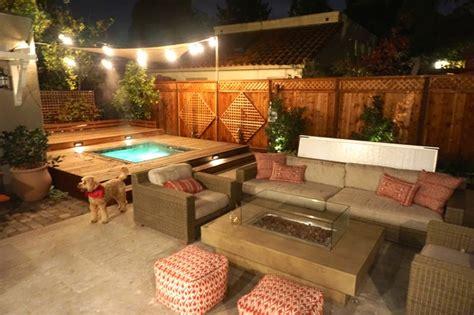 backyard setup small backyard setup for everyday outdoor entertaining