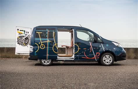 nissan nv200 office nissan just turned an electric e nv200 into a cool mobile