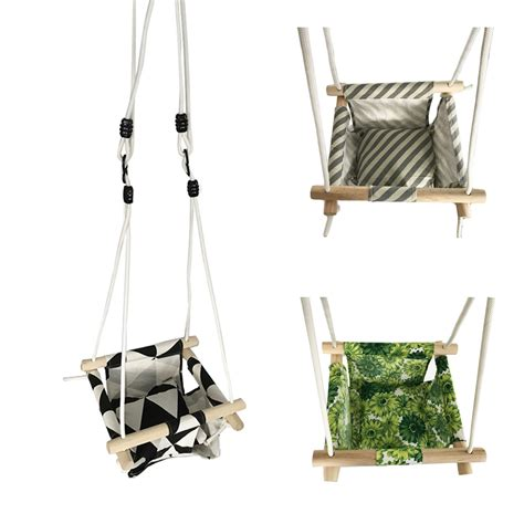 outdoor baby swing baby swing hammock seat set canvas hanging chair with