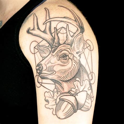 9 best illustrative blackwork tattoos images on