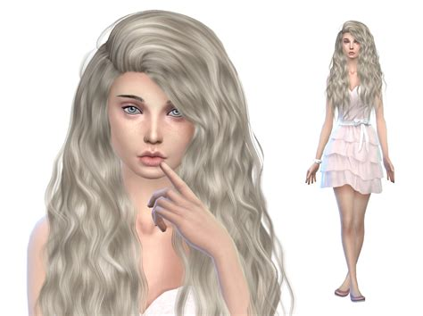 sims 4 cc hair sims community the sims 4 cas cc lookbook 4