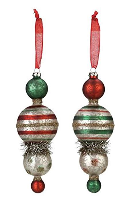 department 56 mercury glass christmas ornaments bag the web
