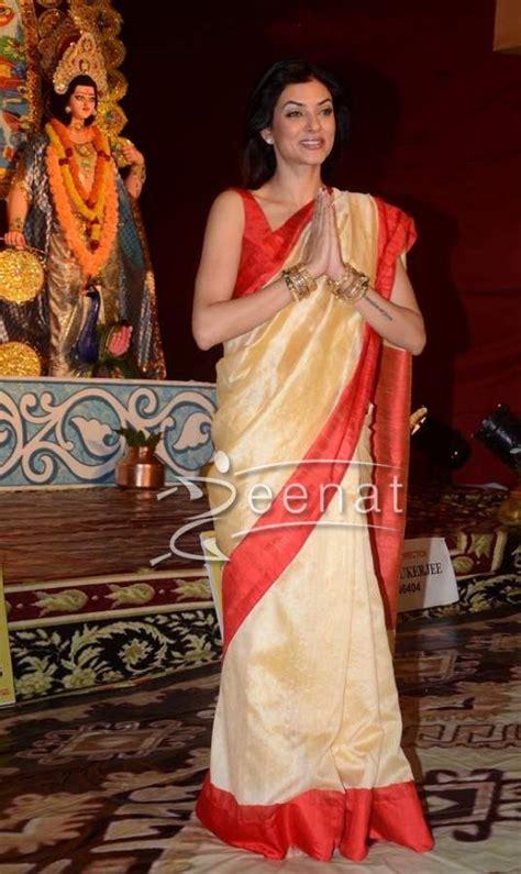 sushmita sen in saree sushmita sen in indian saree http zeenatstyle