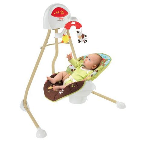 fisher price baby swing reviews fisher price 2 in 1 cradle swing how now brown cow reviews