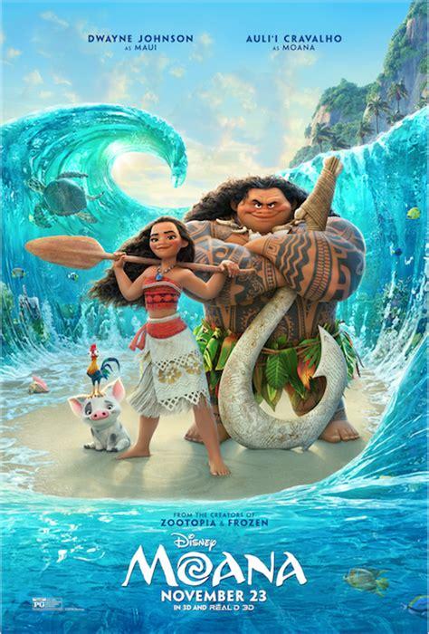film moana disney disney s moana gets a new movie poster