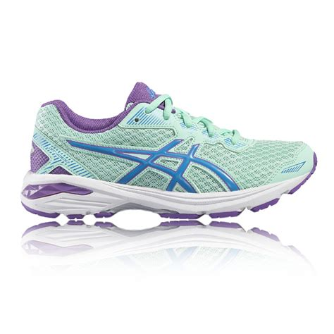 asics junior gt 1000 gs running shoes asics gt 1000 5 gs junior running shoe 50