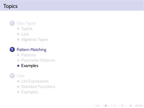 pattern matching with dependent types functional programming pattern matching