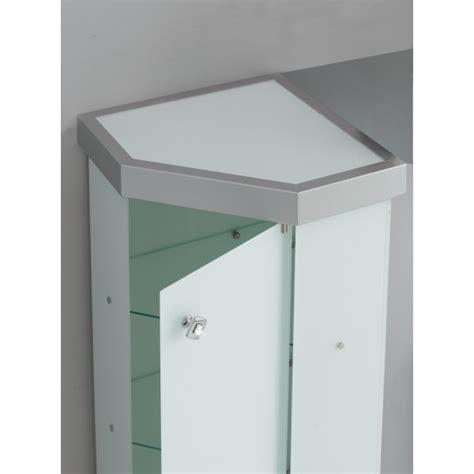 mobili ad angolo per bagno vetrina angolare per arredo bagno in cristallo temp