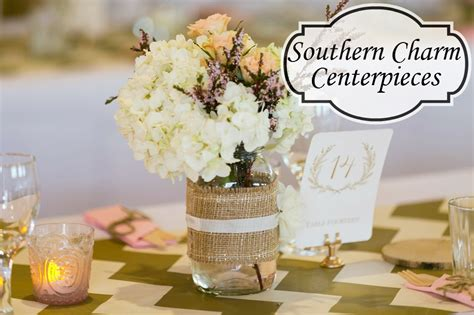 southern charm centerpieces