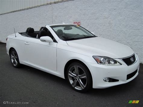 white lexus is 250 2012 2012 starfire white pearl lexus is 250 c convertible