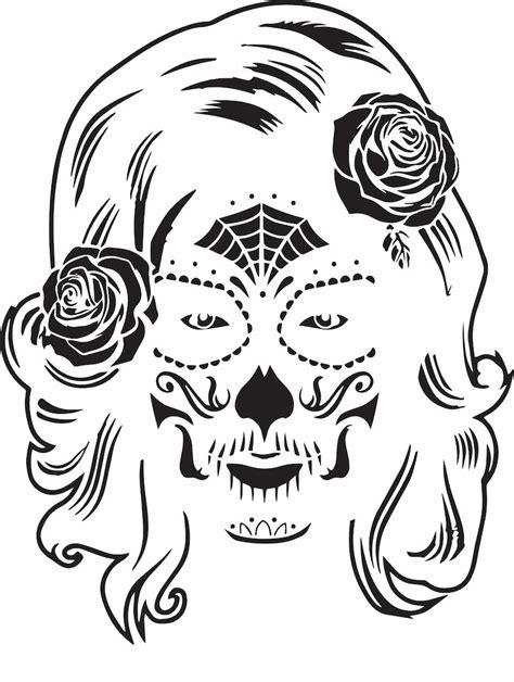 female skull drawing  getdrawings