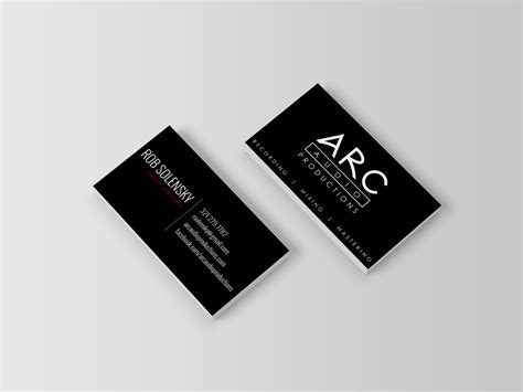Audio Engineer Business Card Template by Audio Engineer Business Card Choice Image Business Card