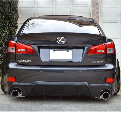 lexus rear bumper 2006 2013 lexus is250 is350 isf type v rear bumper lower