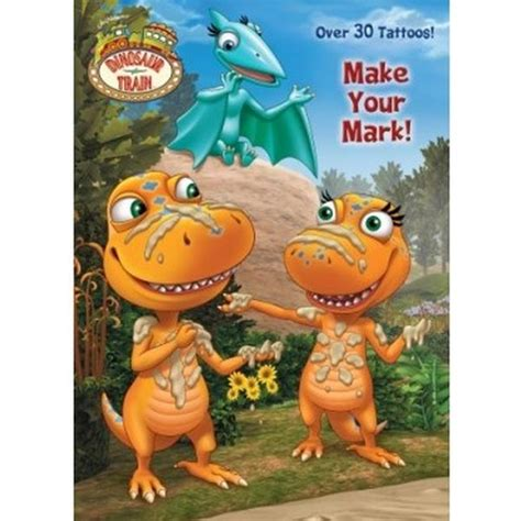 make your mark tattoo dinosaur books make your color and