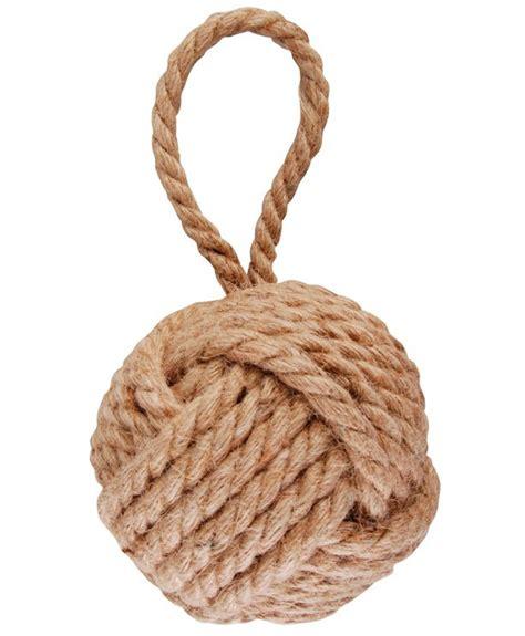 heavy boat rope heavy duty rope knot doorstop with handle durable door
