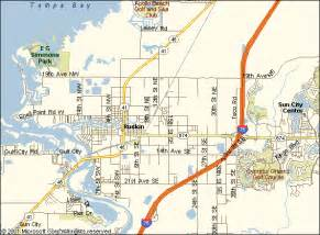 map of ruskin florida e g simmons state park