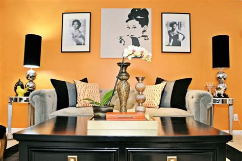 Vintage Living Room Dining Room Vintage Glam Living And Dining Room Eclectic Living