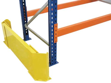 warehouse rack protectors rack end barrier pss pallet racking protection pss