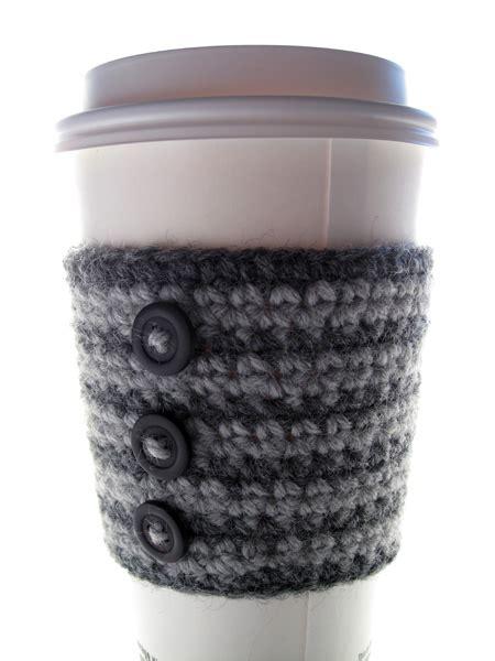 free knitting pattern coffee cup sleeve coffee cozy crochet cup free pattern crochet patterns