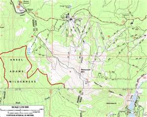 mammoth mountain california map skiing the pacific ring of and beyond mammoth mountain
