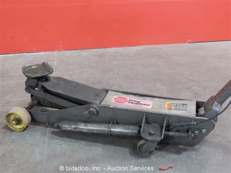 napa  ton automotive floor jack shop garage lift pneumaticmanual portable ebay