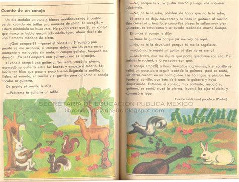 libro minicuentos de conejos y libros de primaria de los 80 s cuento de un conejo espa 241 ol ej y lec 4to grado