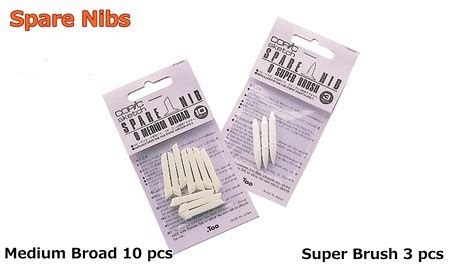 Copic Sketch Nib Brush 3pcs Refcsn001 genuine replacement nibs spare for copic sketch ciao tweezer made in japan ebay