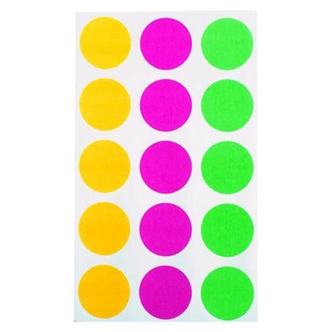 Sticker Dot A Dot neon dot stickers 300ct up up target