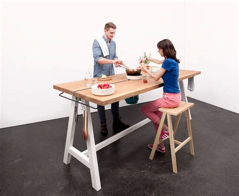 design milk table a multipurpose table you can prep cook and eat at