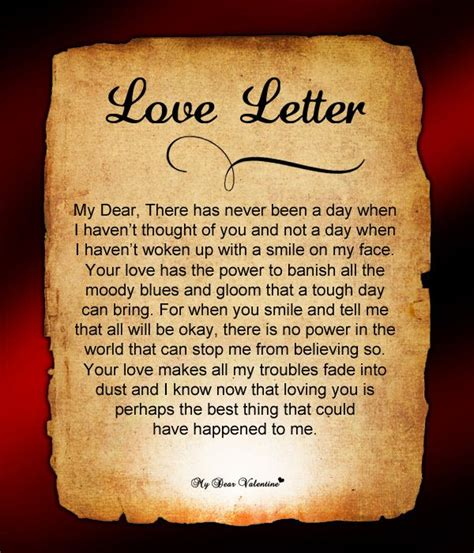 I You So Much Letters For Him