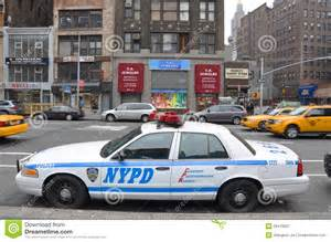 Used Cars Usa New York Nypd Ford Crown Car In Nyc Editorial