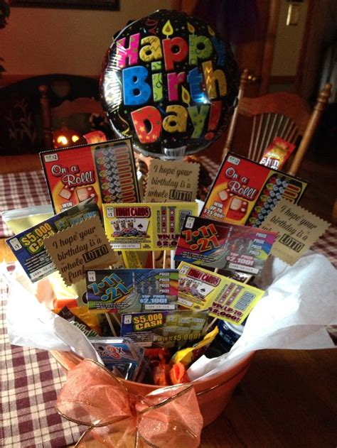 Best Images About Lottery Ticket Basket On Pinterest
