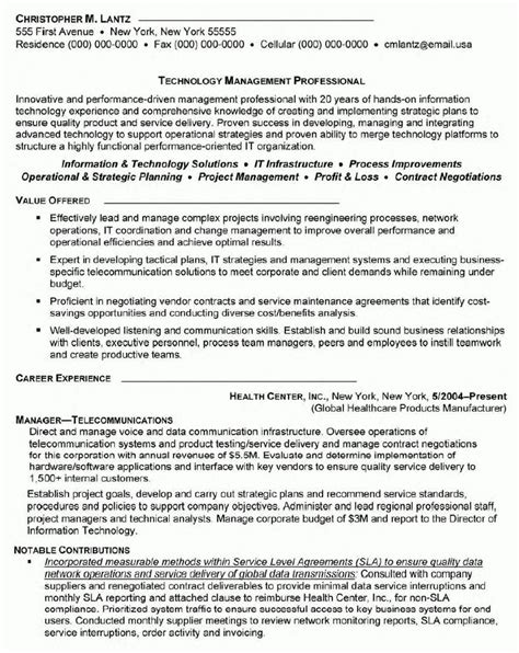telecom sales manager sle resume 28 images at t