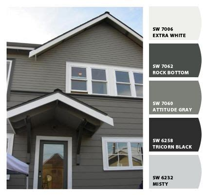 gray exterior eggshell blue ceiling another possibility grey exterior house paint ideas