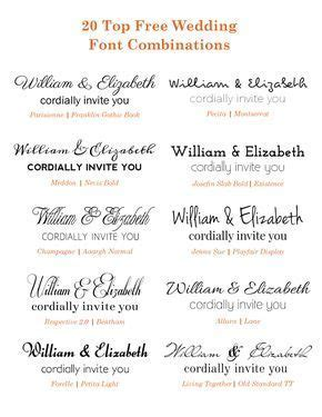 20 Popular Free Google Wedding Font Combinations   aaa