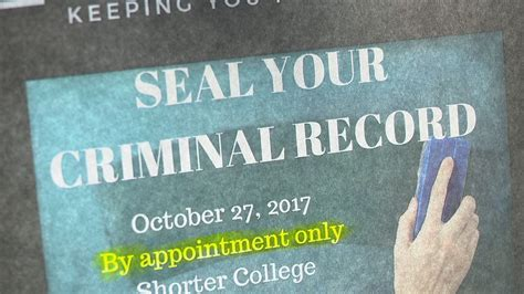 Arkansas Criminal Record Center For Arkansas Services Is Hosting A Clinic To Help Seal Criminal Records